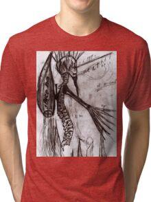 Spine man  Tri-blend T-Shirt