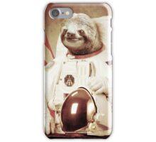 Sloth Astronaut (Slothstronaut) iPhone Case/Skin