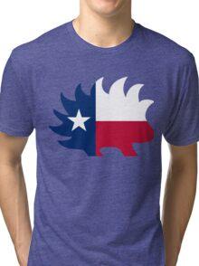 Texas Libertarian Party Porcupine Tri-blend T-Shirt