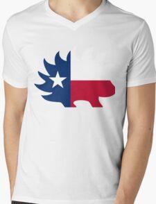 Texas Libertarian Party Porcupine Mens V-Neck T-Shirt