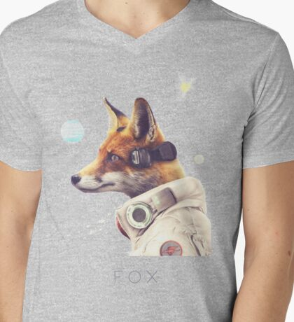 Star Team - Fox Mens V-Neck T-Shirt