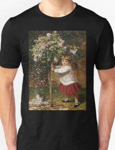 Vintage famous art - James Hayllar - The Rose Tree Unisex T-Shirt