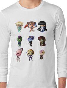 Aliens!!! Long Sleeve T-Shirt