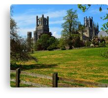 The Cathedral of Ely, Cambridgeshire, UK Canvas Print
