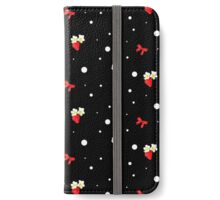 Strawberry Dots iPhone Wallet/Case/Skin