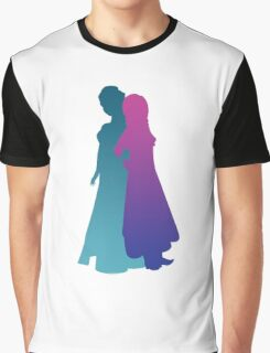 Snow Sisters Graphic T-Shirt