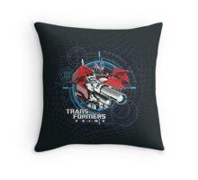 Transformers Prime Throw Pillow