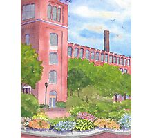 Downtown Dover New Hampshire Courtyard  Photographic Print