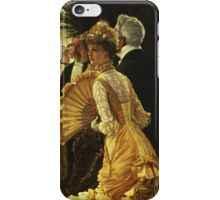 Vintage famous art - James Tissot - The Ball iPhone Case/Skin