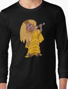 What's worse? Looking Jealous or Crazy? Long Sleeve T-Shirt