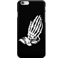 Very Rare Bones (white on black) iPhone Case/Skin