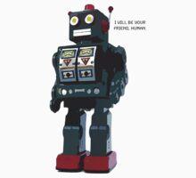 Robot Friend One Piece - Short Sleeve