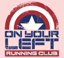 """""""On Your Left Running Club"""" Version 01 One Piece - Short Sleeve"""