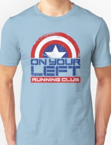 """""""On Your Left Running Club"""" Version 01 T-Shirt"""