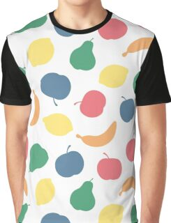 Pattern with fruit Graphic T-Shirt