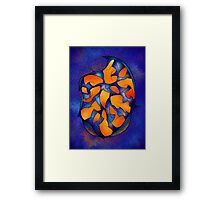 Neoh Peblous V2 - digital abstract Framed Print