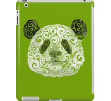 Swirly Panda iPad Case/Skin