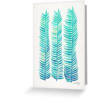 Seafoam Seaweed Greeting Card