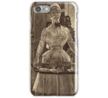 Vintage famous art - James Tissot - Le Matin (Morning)1886 iPhone Case/Skin