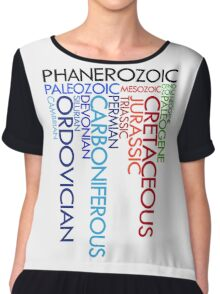 Phanerozoic aeons, eras, ages Chiffon Top