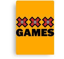 XXX Games Canvas Print