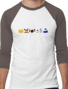 Hey, Buckaroo! Men's Baseball ¾ T-Shirt