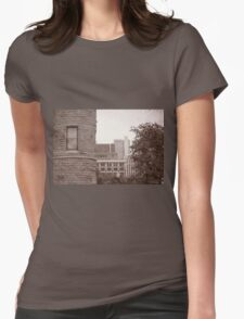 Dallas Architecture 16 Womens Fitted T-Shirt