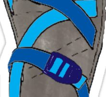 Blue Chaco Shoe Sticker