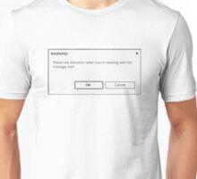 message man Unisex T-Shirt