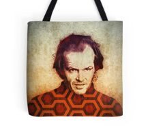 Jack Nicholson art in Stanley Kubrick's The Shining Tote Bag