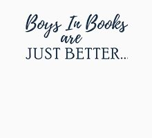 Boys In Books Are Just Better... Women's Fitted Scoop T-Shirt