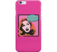 Make Me Laugh iPhone Case/Skin