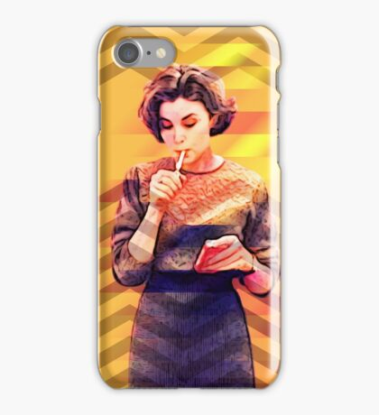 Twin Peaks Audrey Horne David Lynch's 90's Tv Series iPhone Case/Skin