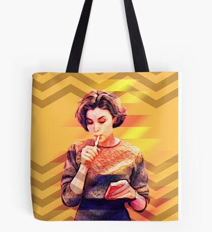 Twin Peaks Audrey Horne David Lynch's 90's Tv Series Tote Bag