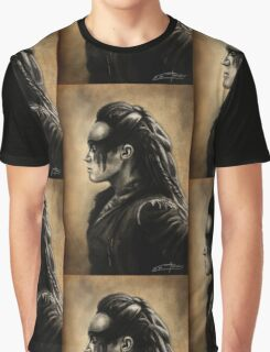 Lexa Profile View  Graphic T-Shirt