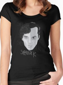Sherlock V Moriarty Women's Fitted Scoop T-Shirt