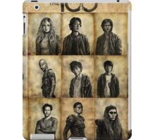 The 100 poster 2 iPad Case/Skin