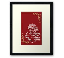 MOther sTyle Framed Print
