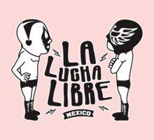 La Luchador Mexico dos One Piece - Short Sleeve