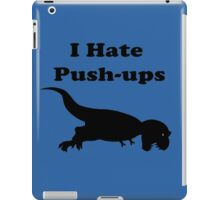 I Hate Keeping Fit & Exercise T-Shirt - Rex Sticker iPad Case/Skin