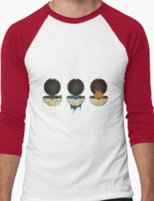 Pokemon Types Men's Baseball ¾ T-Shirt