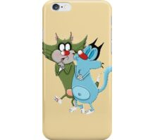 character oggy iPhone Case/Skin