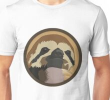 Sloth Badge Unisex T-Shirt