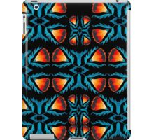 Floral symmetry 2. iPad Case/Skin