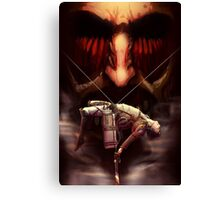 Attack on titan Canvas Print