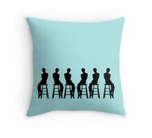Audrey Forever Throw Pillow