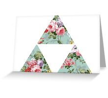 Floral Zelda Greeting Card