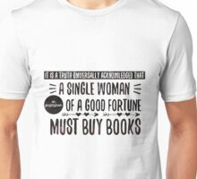 Feminist Pride & Prejudice Unisex T-Shirt