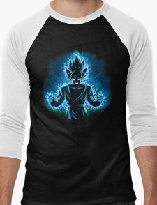 God Blue Men's Baseball ¾ T-Shirt
