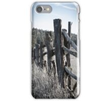 Old Fence iPhone Case/Skin